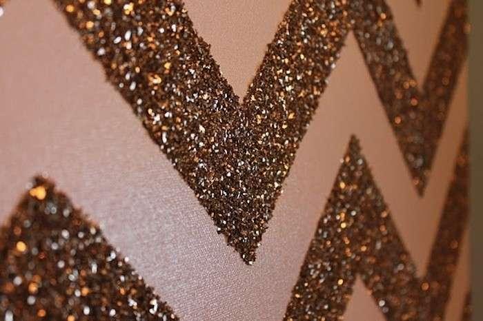 Pareti Glitter Oro : Vesti d oro la tua casa